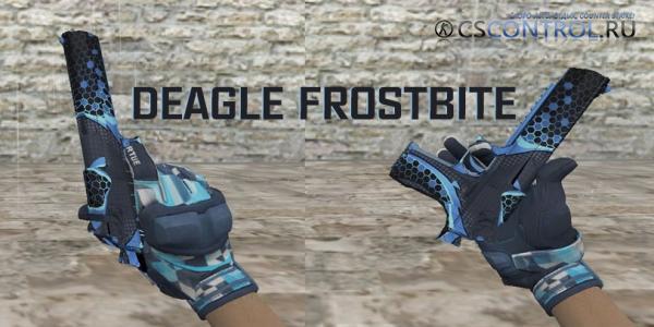 Модель Deagle «Frostbite» + перчатки для CS 1.6