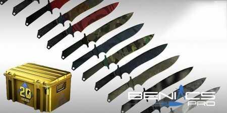 Пак ножей из CS:GO для CS 1.6 » Плагины, модели оружия, готовые сборки серверов для CS 1.6, CS:GO, CSS
