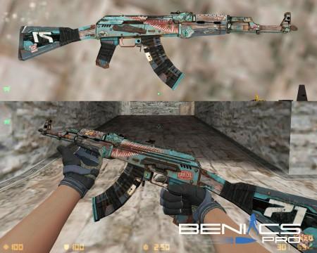 Модель AK 47 Колымага из CS:GO для CS 1.6 » Плагины, модели оружия, готовые сборки серверов для CS 1.6, CS:GO, CSS