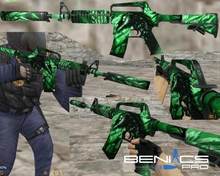 M4A1 S Ночной кошмар | мини пак » Плагины, модели оружия, готовые сборки серверов для CS 1.6, CS:GO, CSS