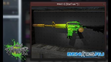 Модель M4A1s - FATCAP для CS 1.6 из CS:GO HD качестве » Плагины, модели оружия, готовые сборки серверов для CS 1.6, CS:GO, CSS