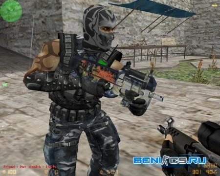 P90 Nostalgia модель для CS 1.6 в HD качестве » Плагины, модели оружия, готовые сборки серверов для CS 1.6, CS:GO, CSS