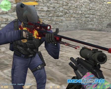 AWP Wildfire Модель для CS 1.6 » Плагины, модели оружия, готовые сборки серверов для CS 1.6, CS:GO, CSS