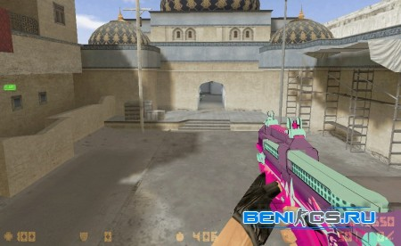 P90 Neon Rider для CS 1.6 » Плагины, модели оружия, готовые сборки серверов для CS 1.6, CS:GO, CSS