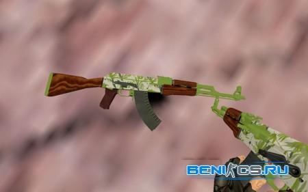 АК 47 Гидропоника из CS:GO для CS 1.6 » Плагины, модели оружия, готовые сборки серверов для CS 1.6, CS:GO, CSS