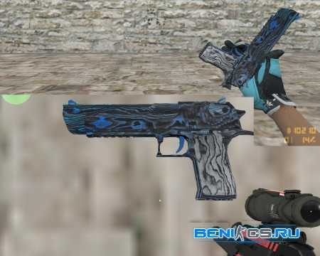Desert Eagle   Синяя фанера для CS 1.6 » Плагины, модели оружия, готовые сборки серверов для CS 1.6, CS:GO, CSS