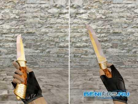 Новый скин ножа для Counter-strike 1.6