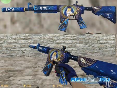 M4A4 The Emperor + specialist fade for CS 1.6 » Плагины, модели оружия, готовые сборки серверов для CS 1.6, CS:GO, CSS
