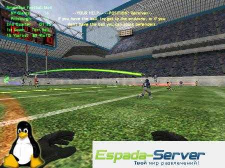 Готовый сервер by FIELD LINE for Linux v1.4 American Football Mod V.5.0