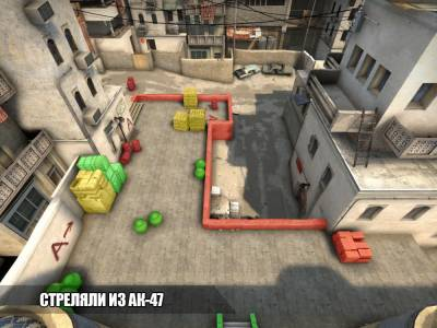 Прострелы на карте Dust2 в CS:GO
