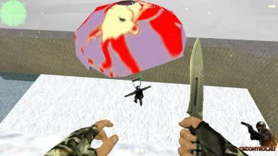 New Year 2015 Parachute