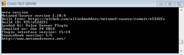 Установка SourceMod и Metamod:Source на сервер CS:GO