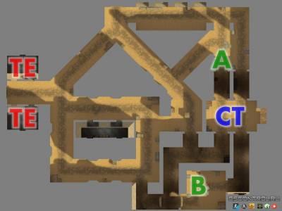 Карта De_fac_sandy_pro для CS 1.6