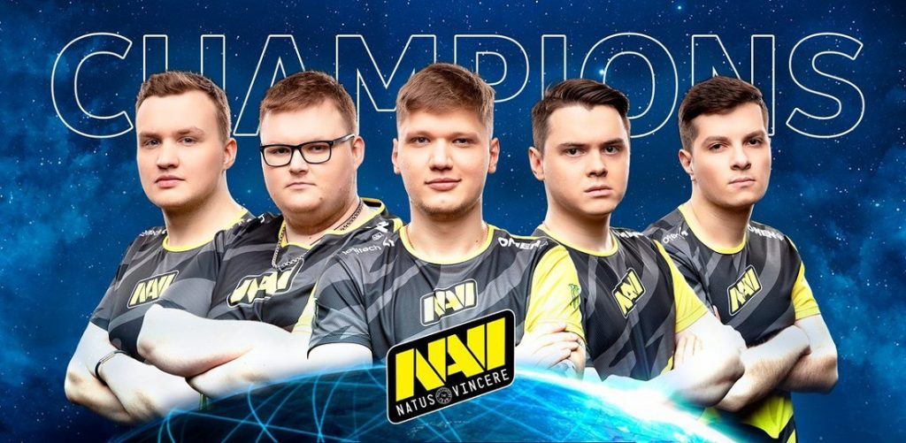 Команда NAVI впервые в истории заработала 1000 очков по версии HLTV.org в CS: GO